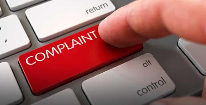 Filing Complaints Online