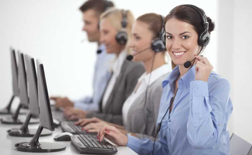 Telemarketing - Call Center People at Work